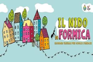 """""""Il nido di formica"""": cinque spettacoli teatrali per le scuole e le famiglie"""