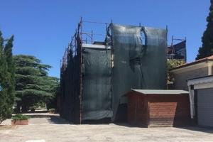 Progetto di ampliamento e restauro del cimitero