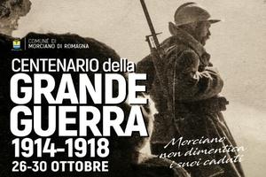 Centenario Prima Guerra Mondiale – Le iniziative del Comune di Morciano