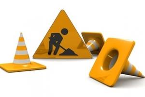 Via Bennone e via Abbazia – Lavori di scavo per completamento collettore fognario