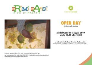 29.5.19 Open day Nido d'Infanzia
