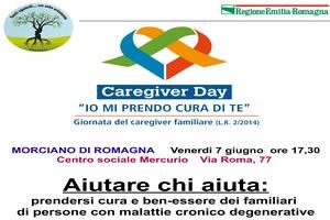 """Caregiver Day 2019 – """"Aiutare chi aiuta"""" – Morciano di Romagna 7 Giugno 2019"""