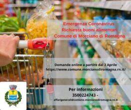 Inserimento domanda buono solidarietà alimentare