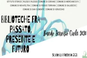 Servizio civile – Disponibile 1 posto per volontari presso la biblioteca 'G. Mariotti'